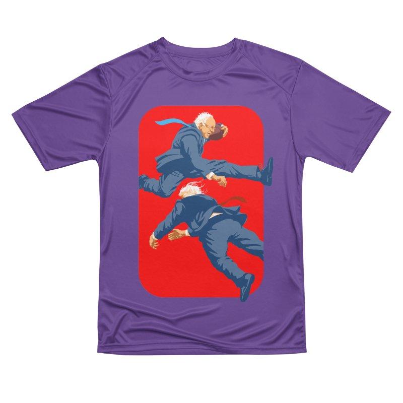 Bernie Hurdles Trump Women's Performance Unisex T-Shirt by Bernie Threads