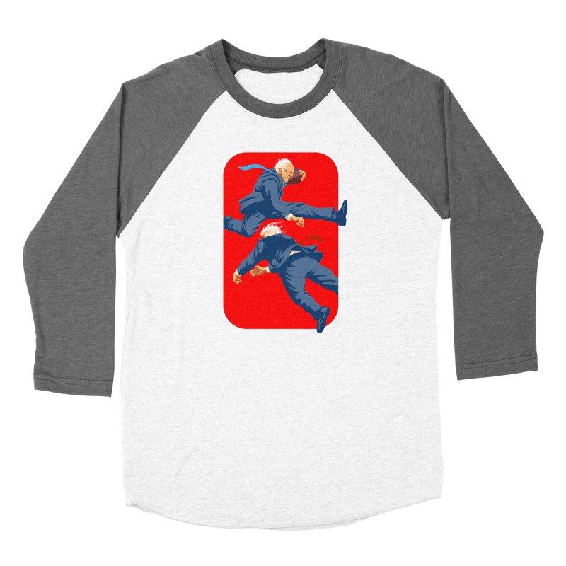 Bernie Hurdles Trump Men's Baseball Triblend Longsleeve T-Shirt by Bernie Threads