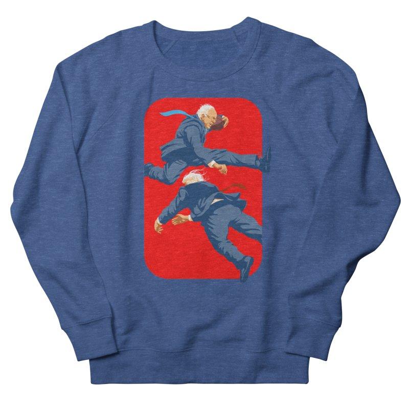 Bernie Hurdles Trump Men's Sweatshirt by Bernie Threads