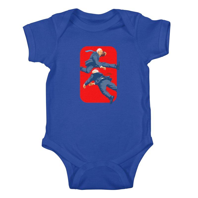 Bernie Hurdles Trump Kids Baby Bodysuit by Bernie Threads