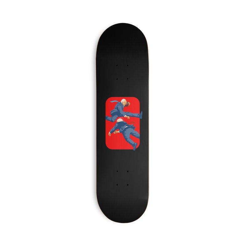Bernie Hurdles Trump Accessories Deck Only Skateboard by Bernie Threads