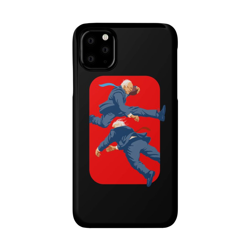 Bernie Hurdles Trump Accessories Phone Case by Bernie Threads