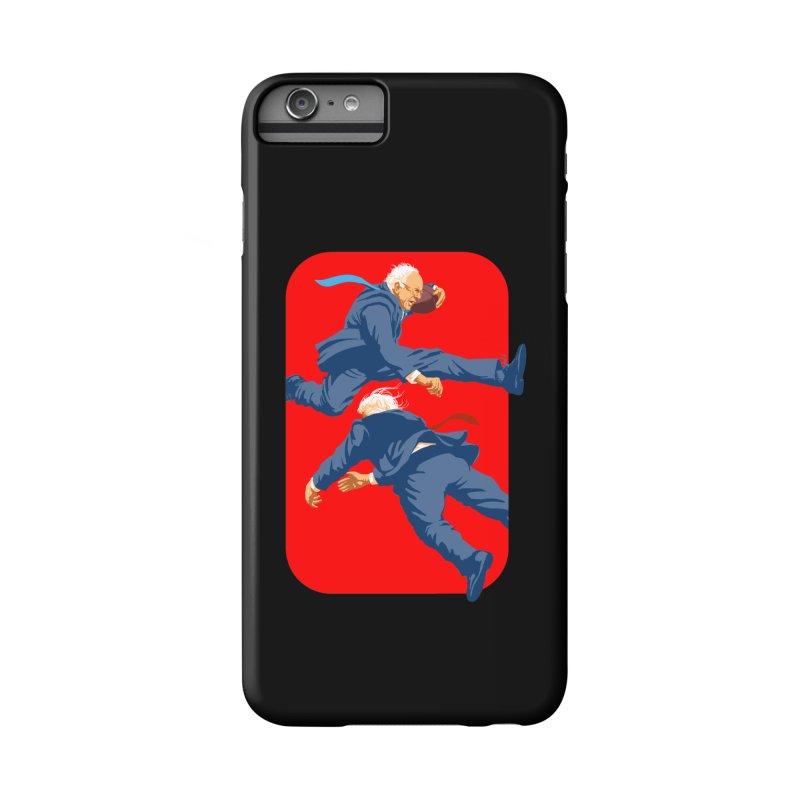 Bernie Hurdles Trump Accessories Phone Case by Bernie Threads