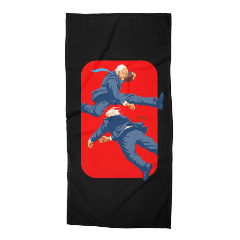 Bernie Hurdles Trump Accessories Beach Towel by Bernie Threads