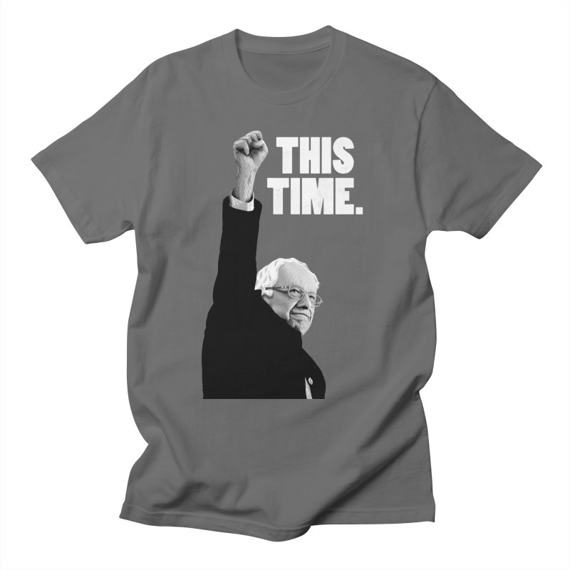 This Time. (White Text) Men's T-Shirt by Bernie Threads