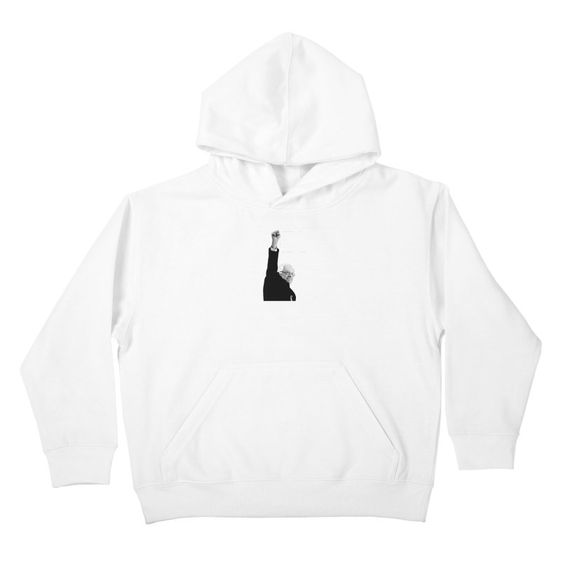This Time. (White Text) Kids Pullover Hoody by Bernie Threads