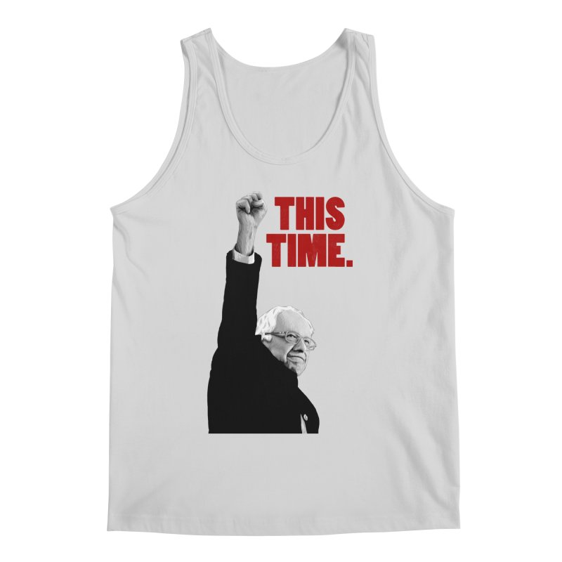 This Time. (Red Text) Men's Regular Tank by Bernie Threads
