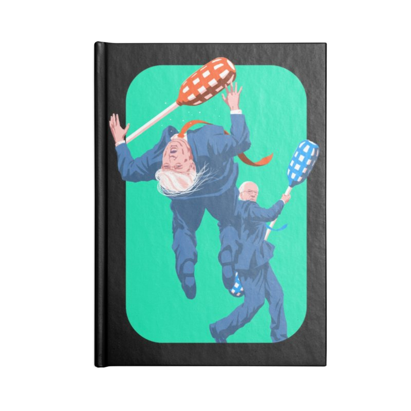 Bernie Jousts Trump Accessories Lined Journal Notebook by Bernie Threads