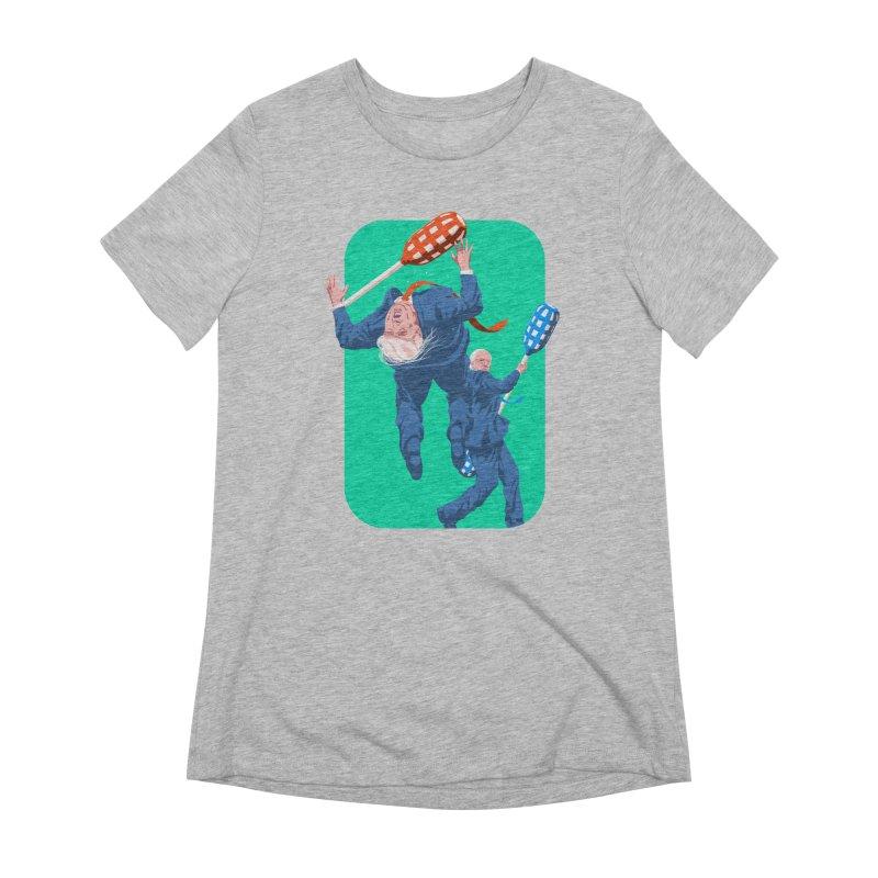 Bernie Jousts Trump Women's Extra Soft T-Shirt by Bernie Threads
