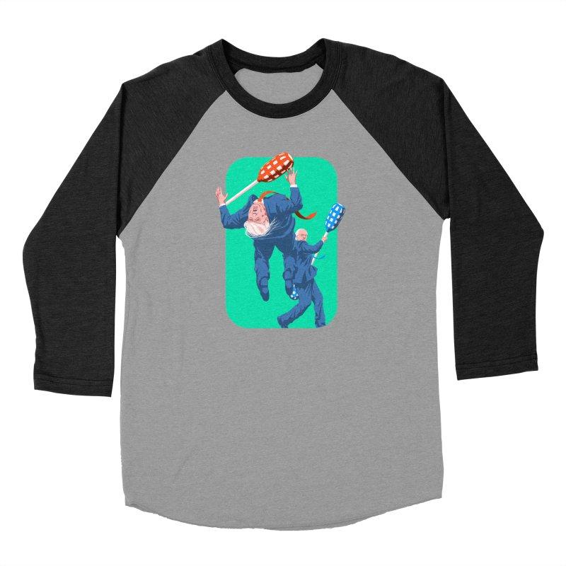 Bernie Jousts Trump Men's Baseball Triblend Longsleeve T-Shirt by Bernie Threads