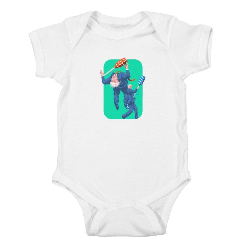Bernie Jousts Trump Kids Baby Bodysuit by Bernie Threads