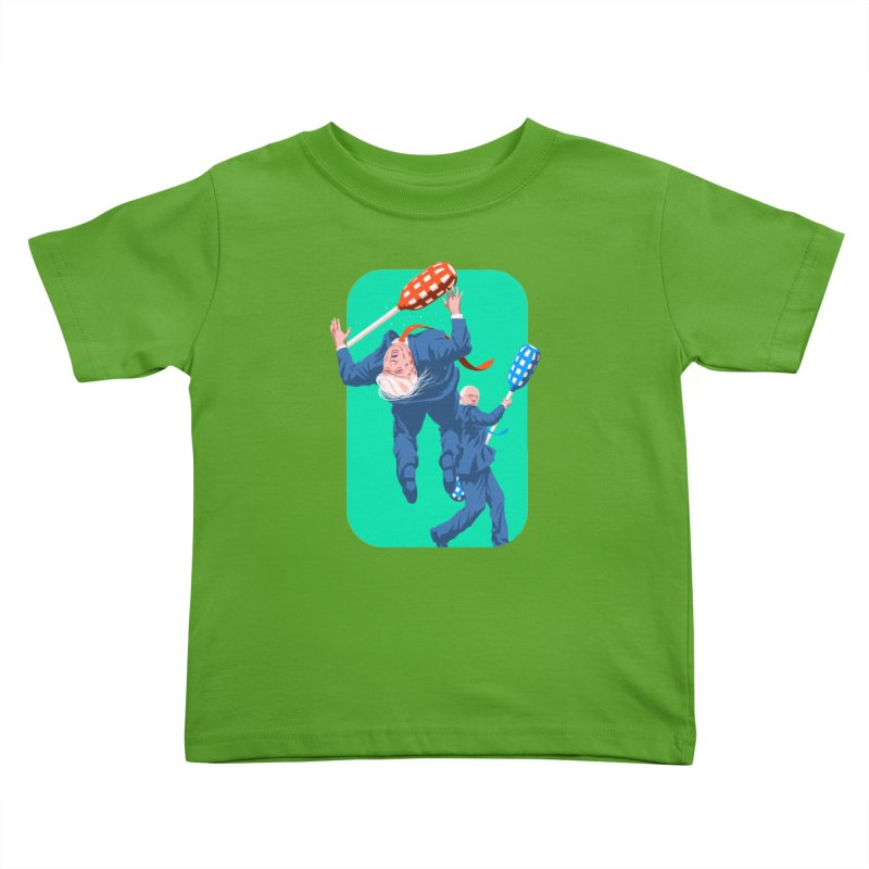 Bernie Jousts Trump Kids Toddler T-Shirt by Bernie Threads