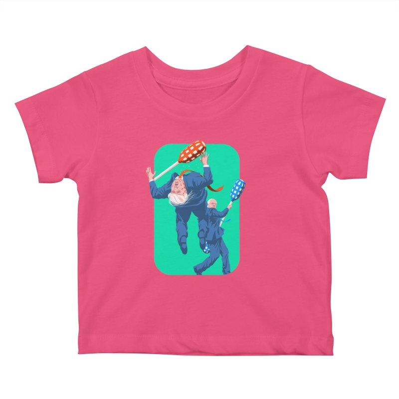 Bernie Jousts Trump Kids Baby T-Shirt by Bernie Threads
