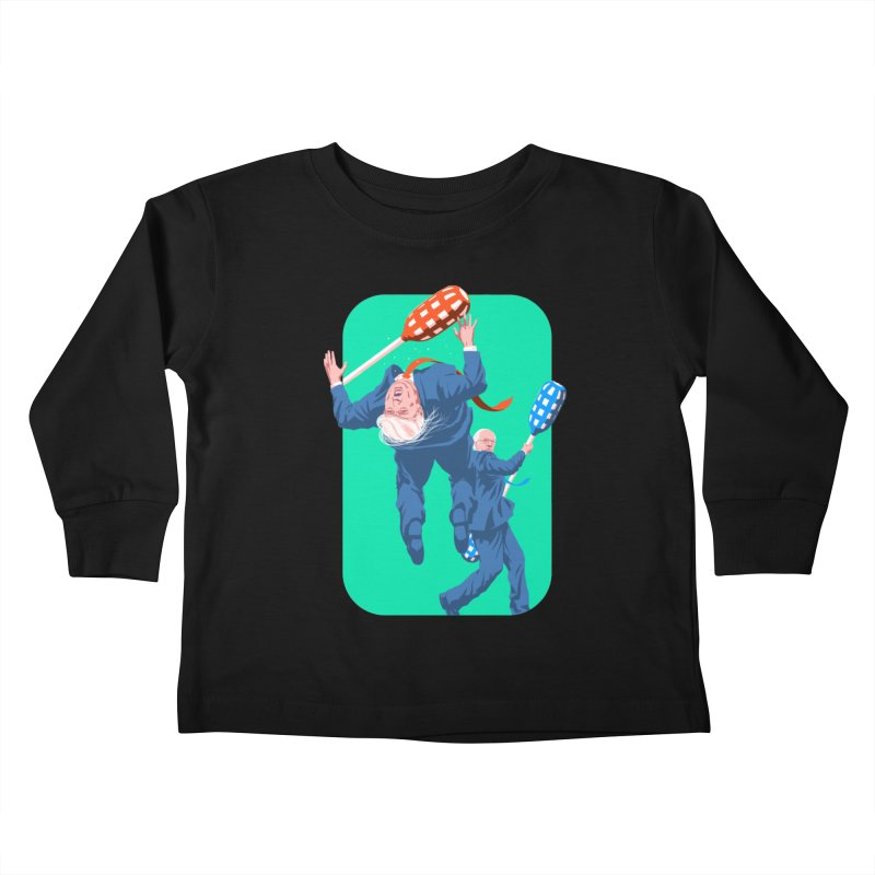 Bernie Jousts Trump Kids Toddler Longsleeve T-Shirt by Bernie Threads
