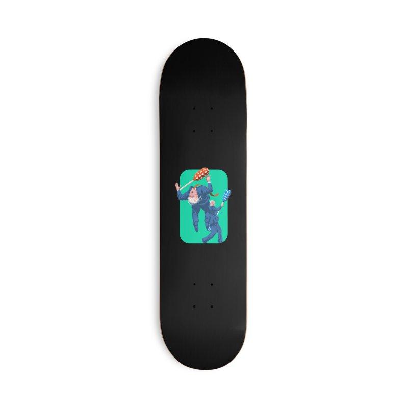 Bernie Jousts Trump Accessories Deck Only Skateboard by Bernie Threads