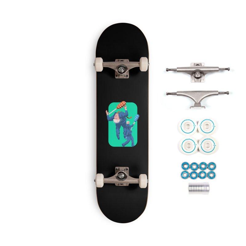 Bernie Jousts Trump Accessories Skateboard by Bernie Threads