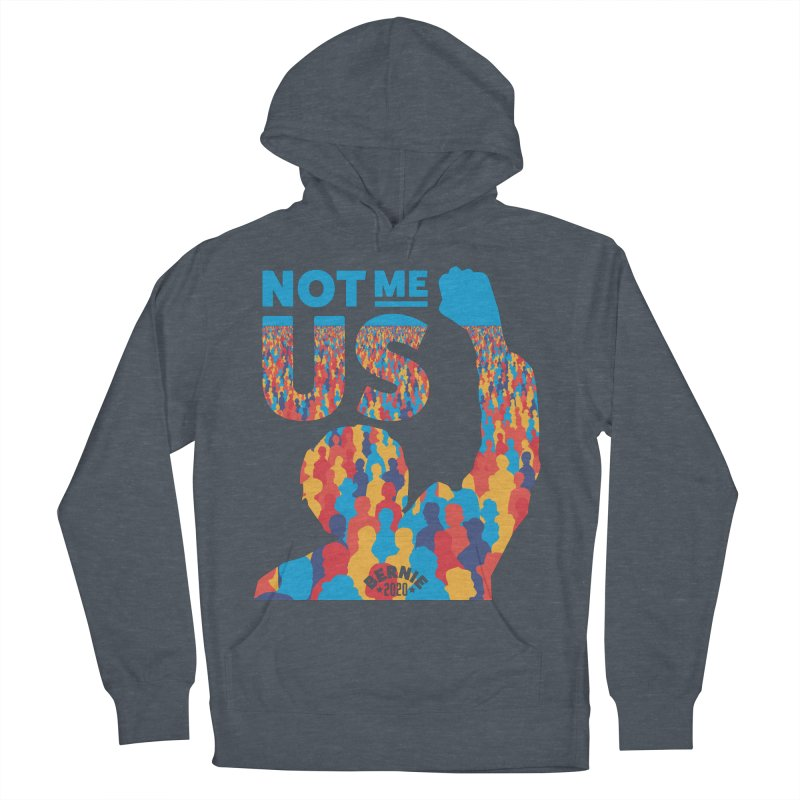 Not Me, Us 2020 Women's French Terry Pullover Hoody by Bernie Threads