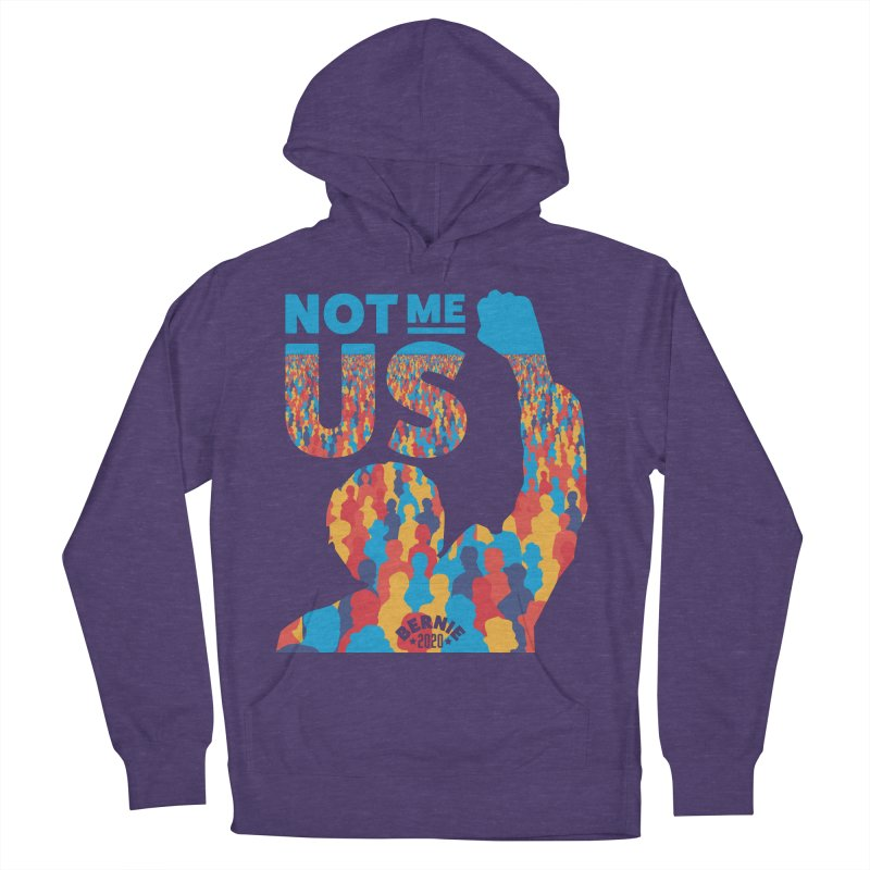 Not Me, Us 2020 Men's Pullover Hoody by Bernie Threads