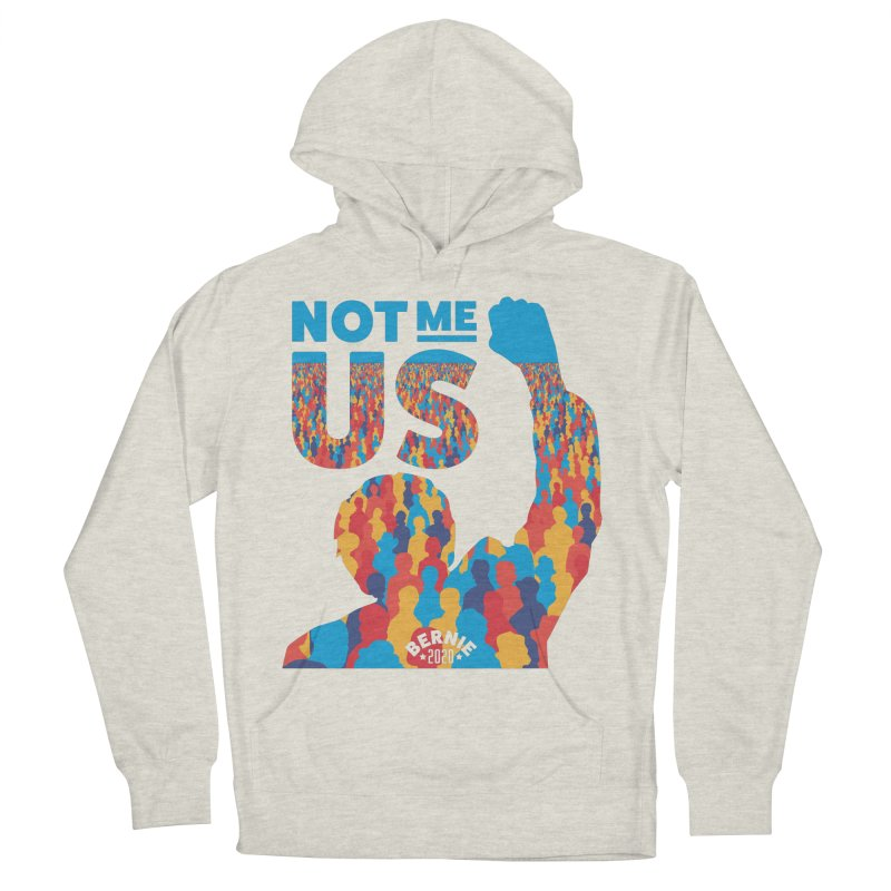 Not Me, Us 2020 Men's French Terry Pullover Hoody by Bernie Threads
