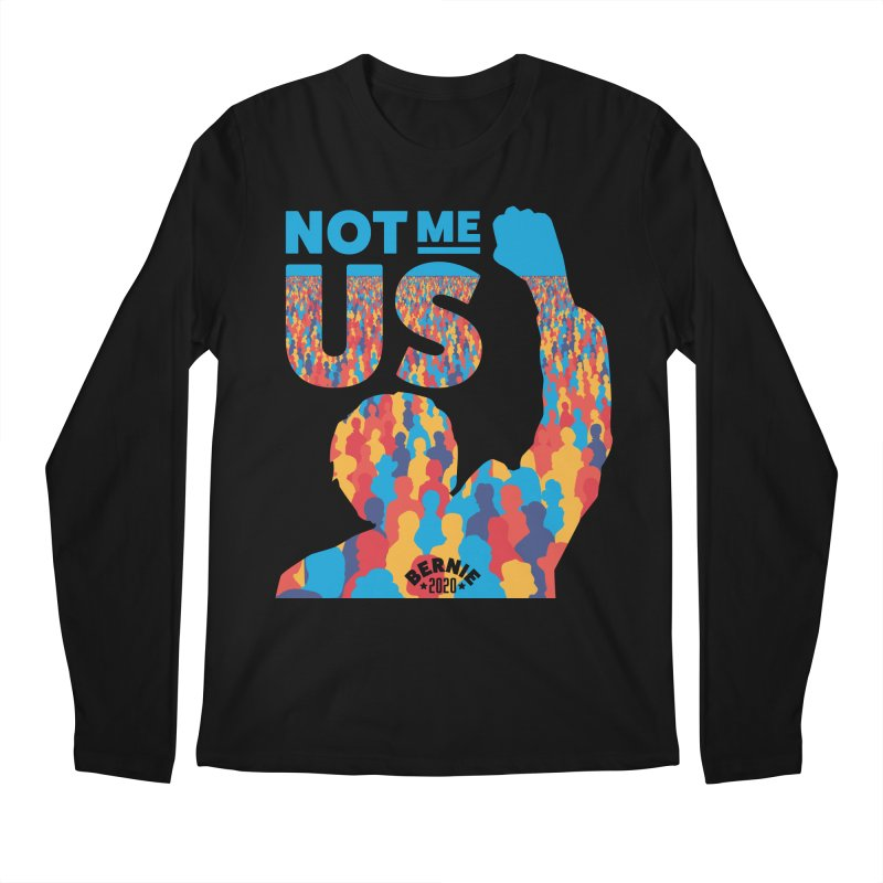 Not Me, Us 2020 Men's Regular Longsleeve T-Shirt by Bernie Threads