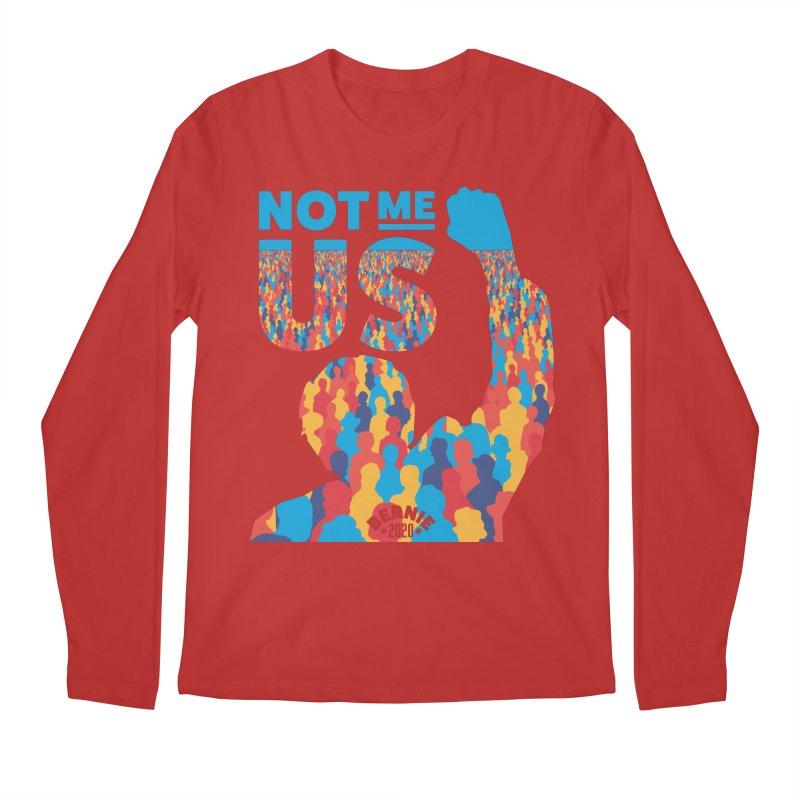 Not Me, Us 2020 Men's Longsleeve T-Shirt by Bernie Threads