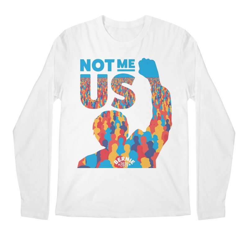 Not Me, Us 2020 Men's Longsleeve T-Shirt by Bernie Threads