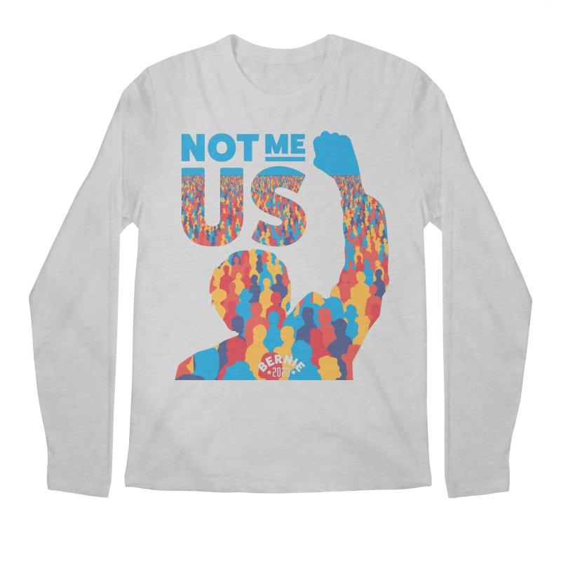 Not Me, Us 2020 Men's Regular Longsleeve T-Shirt by Bernie Threads