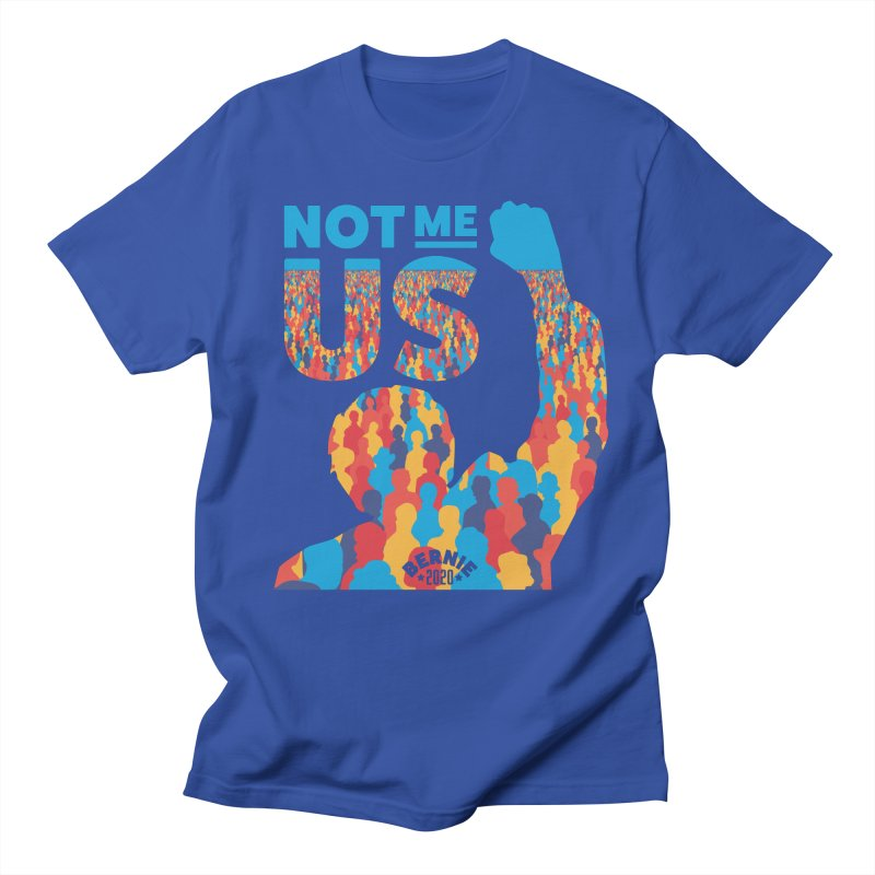 Not Me, Us 2020 Men's T-Shirt by Bernie Threads