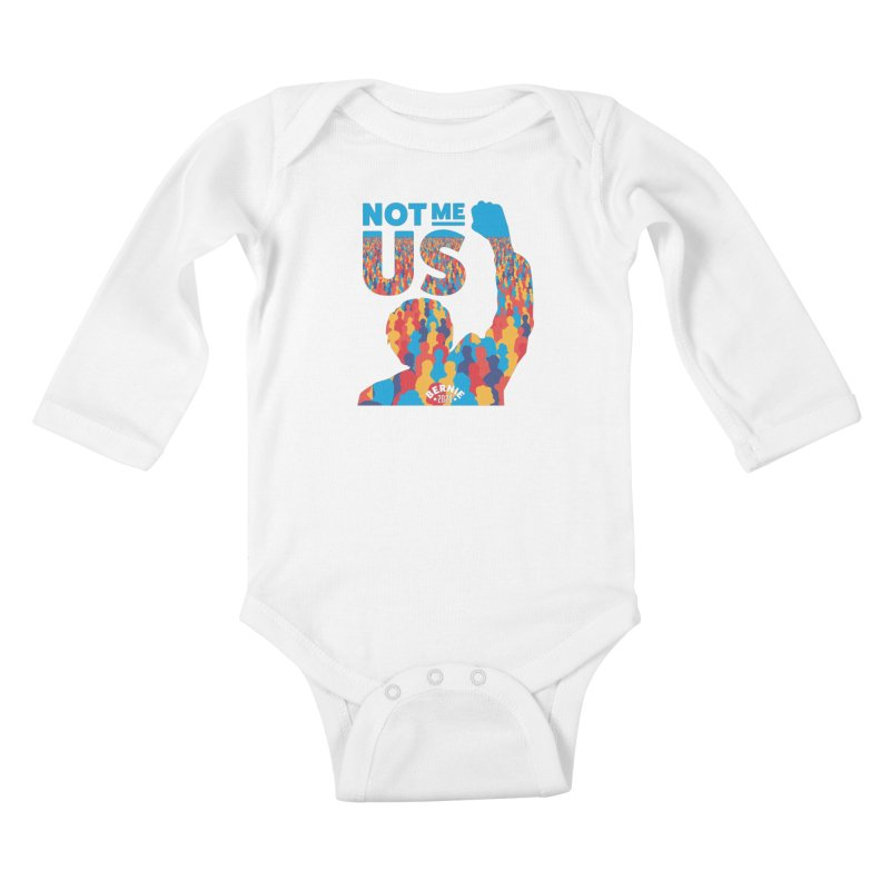 Not Me, Us 2020 Kids Baby Longsleeve Bodysuit by Bernie Threads