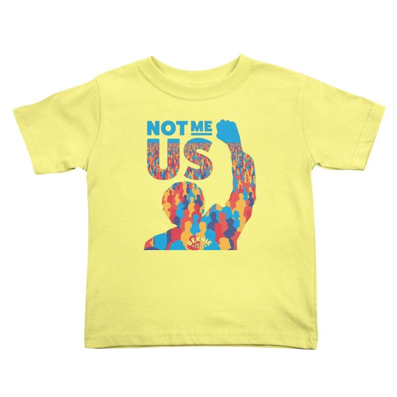 Not Me, Us 2020 Kids Toddler T-Shirt by Bernie Threads