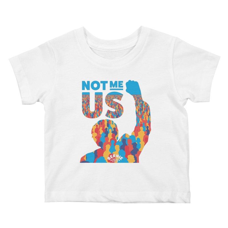 Not Me, Us 2020 Kids Baby T-Shirt by Bernie Threads