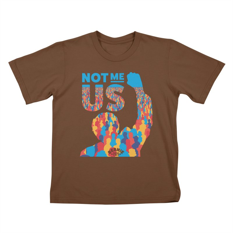 Not Me, Us 2020 Kids T-shirt by Bernie Threads