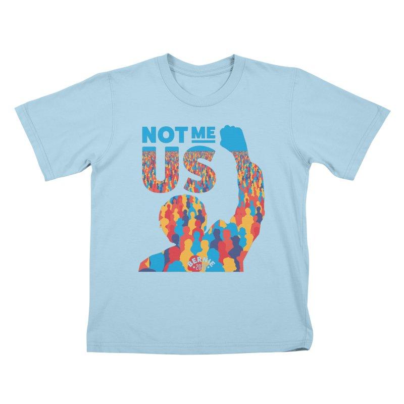 Not Me, Us 2020 Kids T-shirt by Bernie Threads