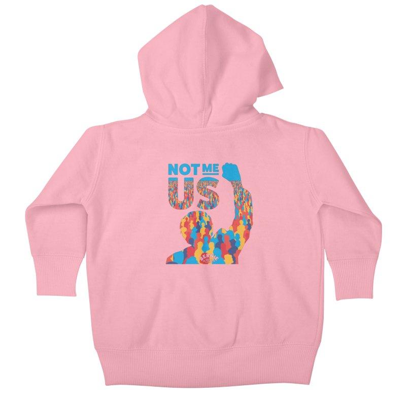 Not Me, Us 2020 Kids Baby Zip-Up Hoody by Bernie Threads