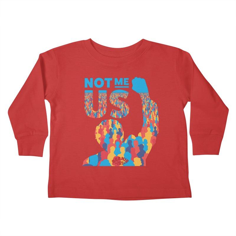 Not Me, Us 2020 Kids Toddler Longsleeve T-Shirt by Bernie Threads
