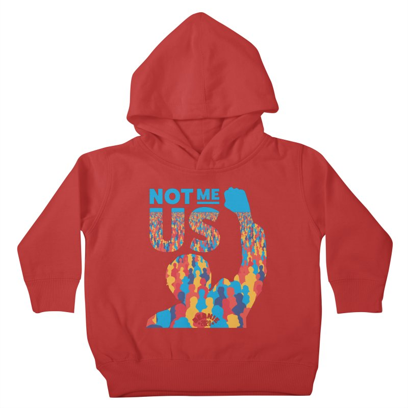 Not Me, Us 2020 Kids Toddler Pullover Hoody by Bernie Threads