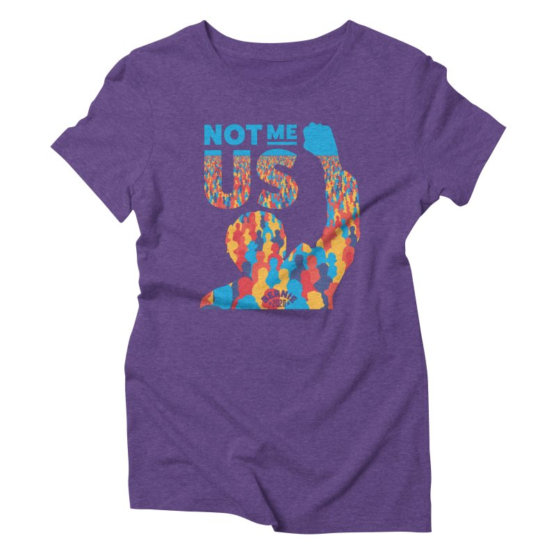 Not Me, Us 2020 Women's Triblend T-shirt by Bernie Threads