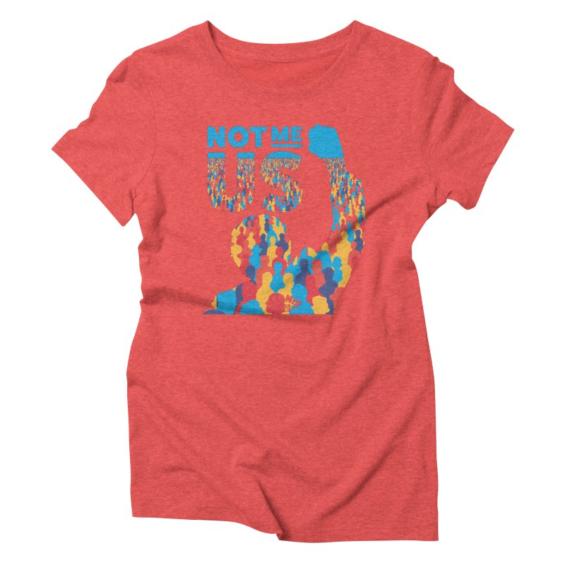 Not Me, Us 2020 Women's Triblend T-shirt by Bernie Threads