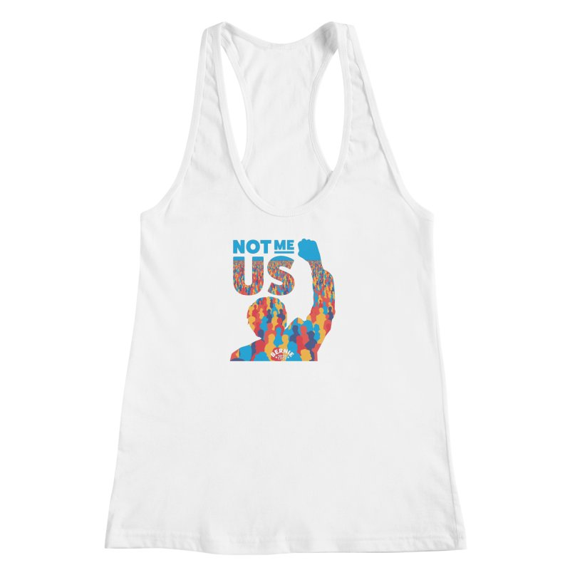 Not Me, Us 2020 Women's Racerback Tank by Bernie Threads