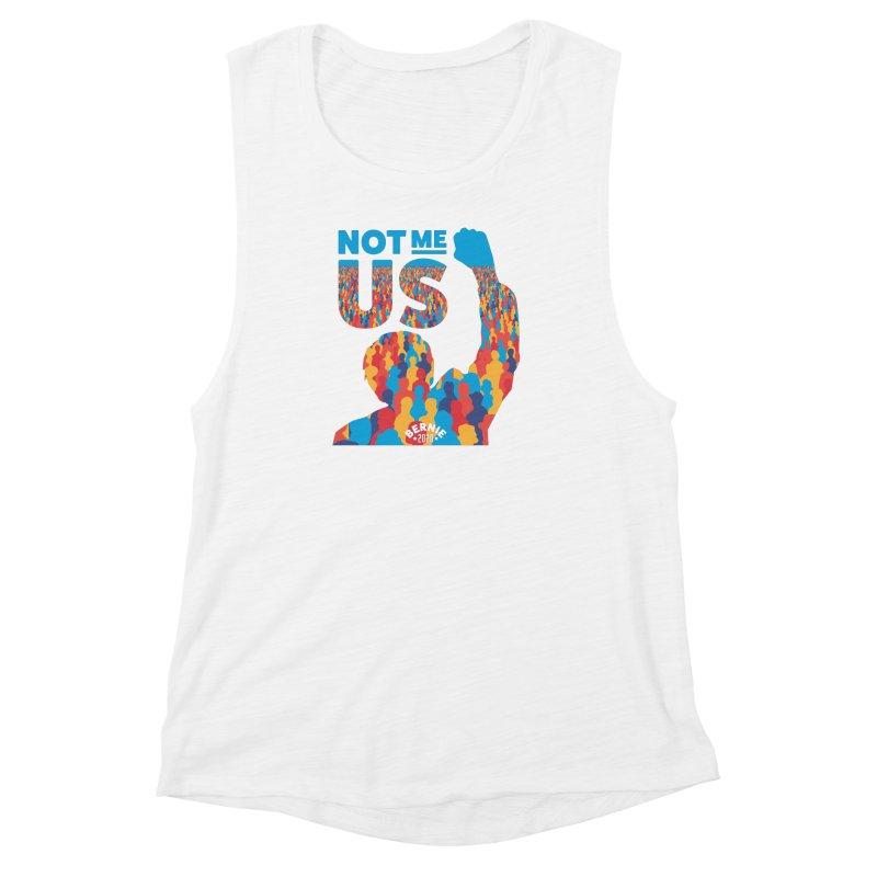Not Me, Us 2020 Women's Muscle Tank by Bernie Threads