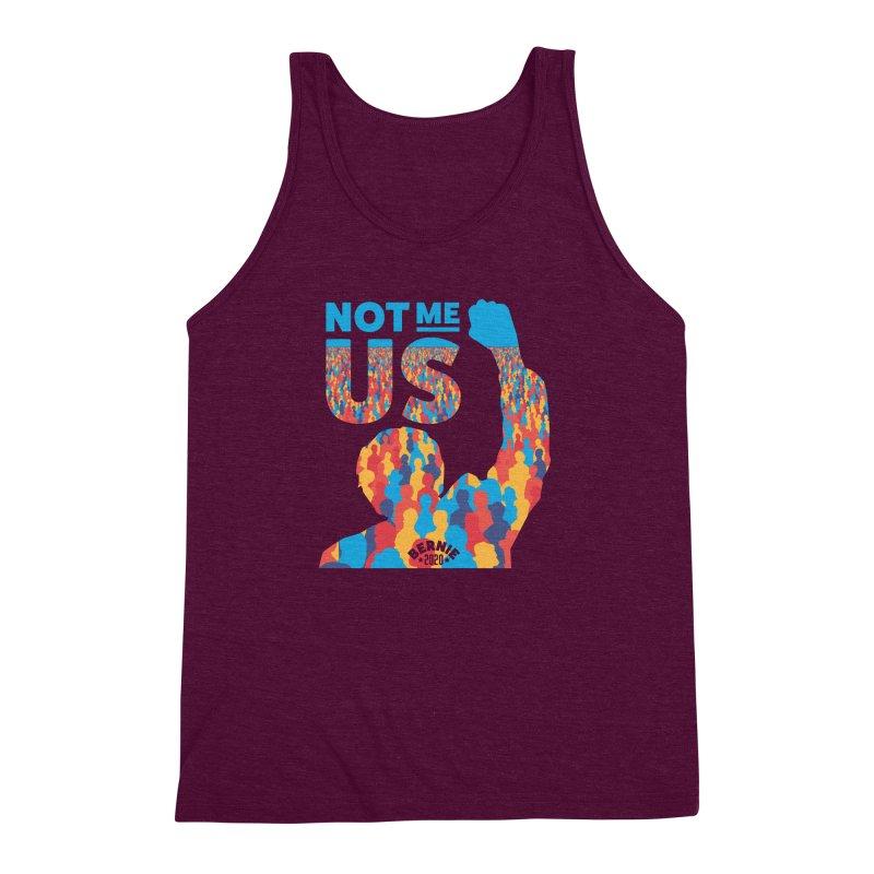 Not Me, Us 2020 Men's Triblend Tank by Bernie Threads