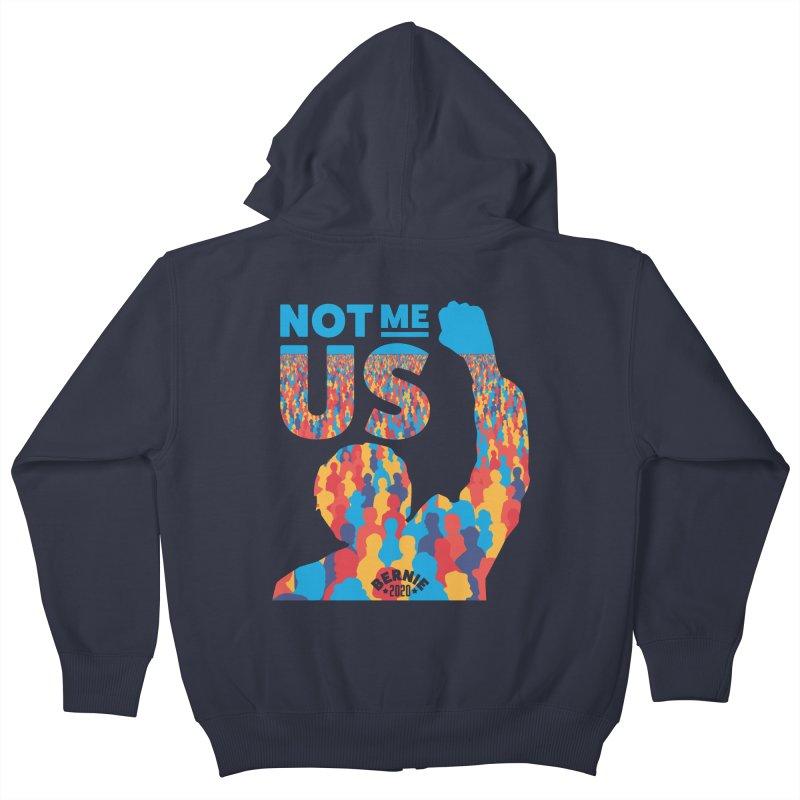 Not Me, Us 2020 Kids Zip-Up Hoody by Bernie Threads