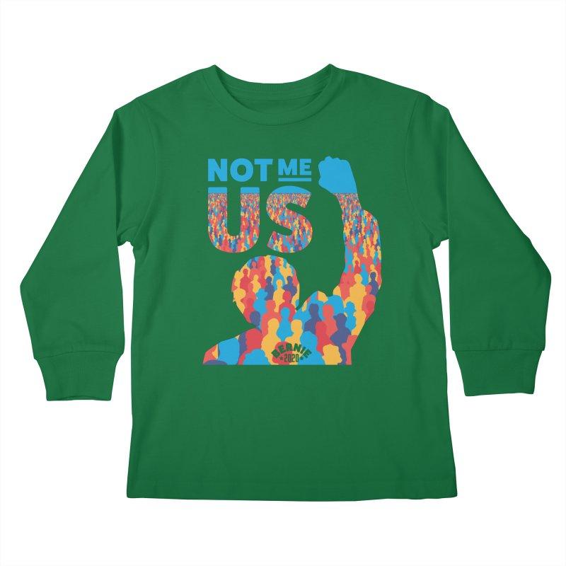 Not Me, Us 2020 Kids Longsleeve T-Shirt by Bernie Threads