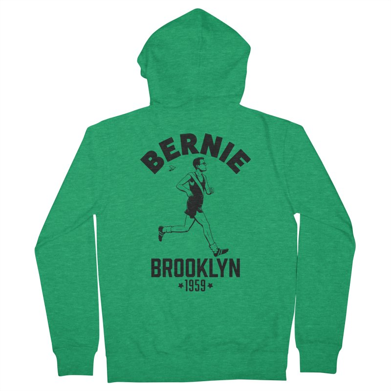 Bernie Athletics Brooklyn 1959 Women's Zip-Up Hoody by Bernie Threads