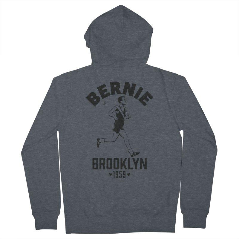 Bernie Athletics Brooklyn 1959 Men's Zip-Up Hoody by Bernie Threads