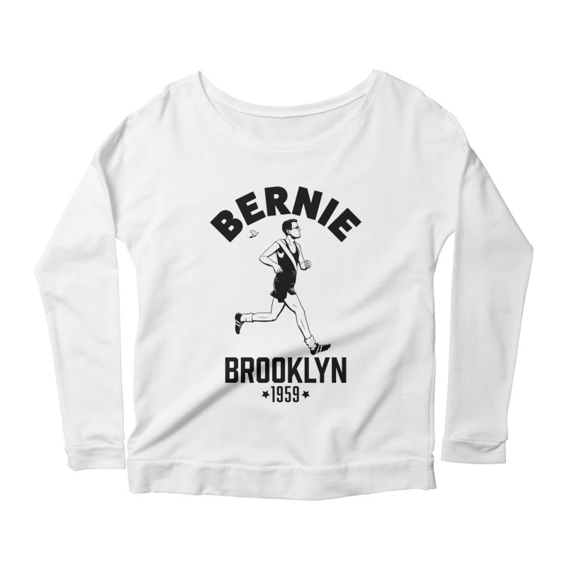 Bernie Athletics Brooklyn 1959 Women's Longsleeve Scoopneck  by Bernie Threads