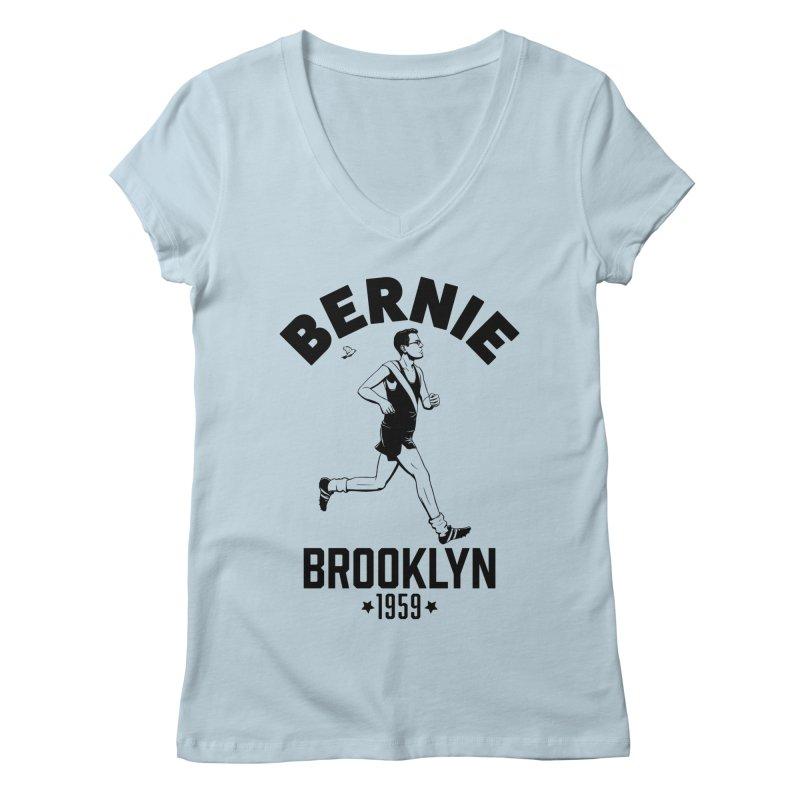 Bernie Athletics Brooklyn 1959 Women's V-Neck by Bernie Threads