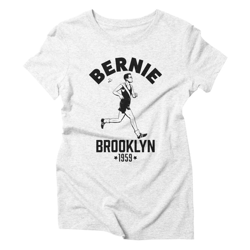 Bernie Athletics Brooklyn 1959 Women's Triblend T-shirt by Bernie Threads