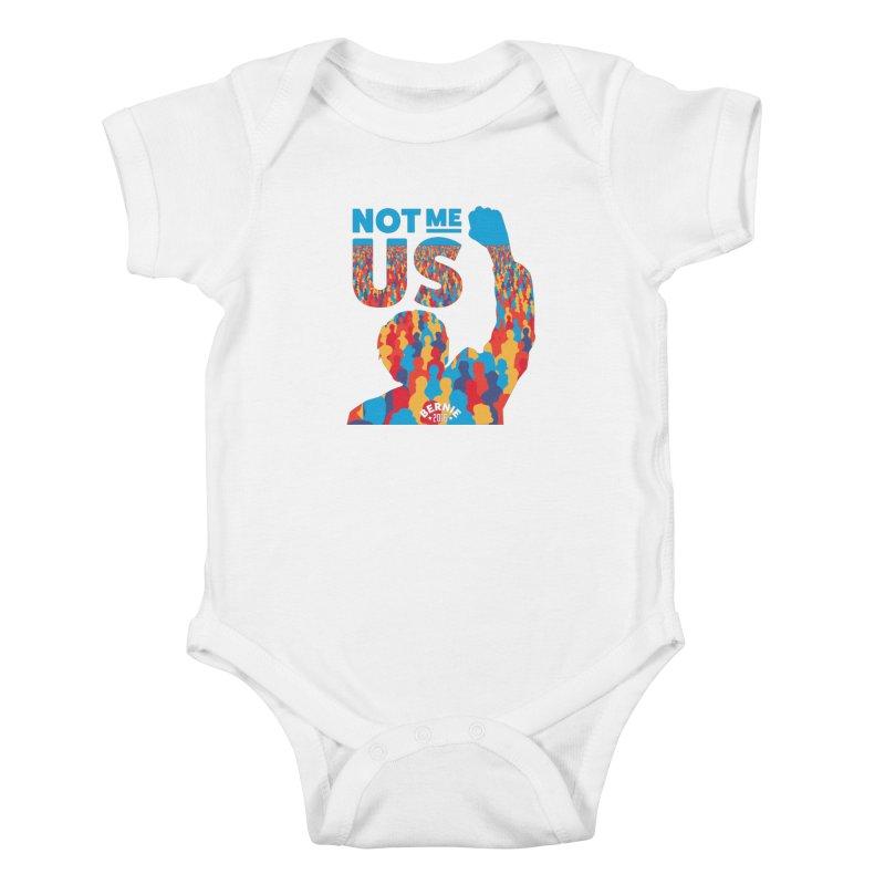 Not Me, Us. Kids Baby Bodysuit by Bernie Threads