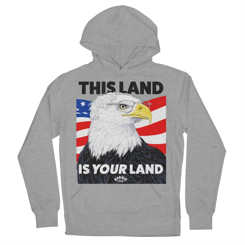 This Land Is Your Land Men's Pullover Hoody by Bernie Threads